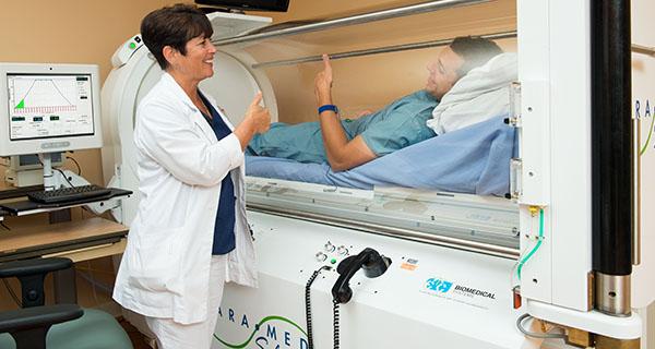 Hyperbaric medicine. Pressure chamber
