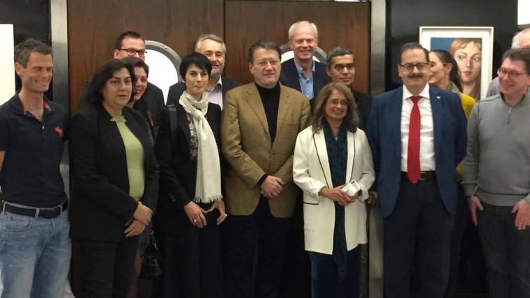 Организационный комитет EVER в клинике Barraquer